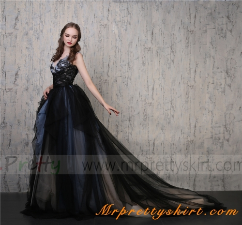 Navy BLack 3 color Weding Skirt Bridal Skirt