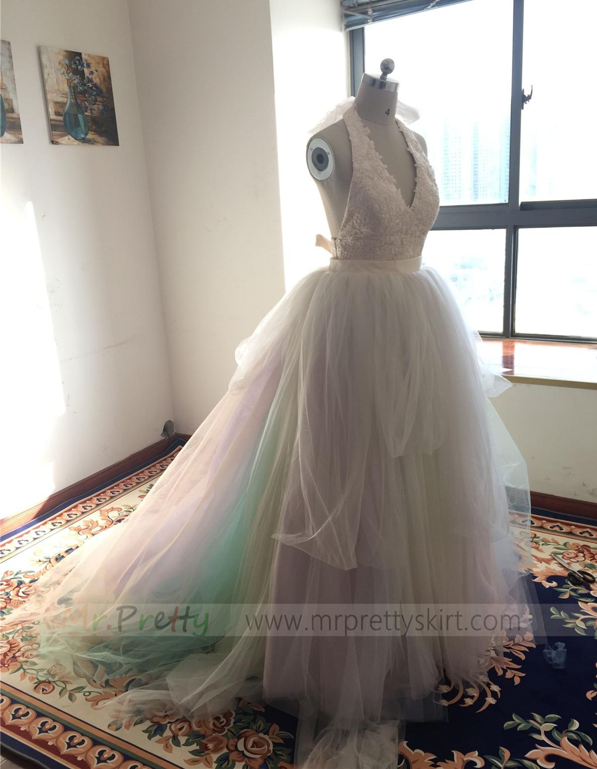 long train tulle skirt bridal skirts